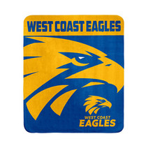 AFL Polar Fleece Rug West Coast Eagles