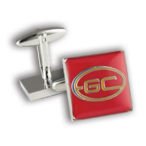 Gold Coast Suns Official AFL Coloured Cufflinks