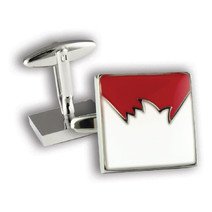 Sydney Swans Official AFL Coloured Cufflinks