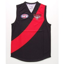 Essendon Bombers Official AFL Replica Adults Home Guernsey