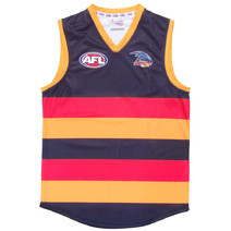 Adelaide Crows Official AFL Replica Adults Home Guernsey + FREE CAP