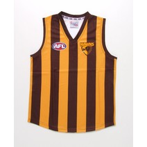 Hawthorn Hawks Official AFL Replica Adults Home Guernsey + FREE CAP