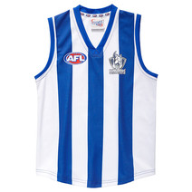 North Melbourne Kangaroos Official AFL Replica Adults Home Guernsey
