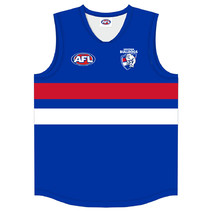 Western Bulldogs Official AFL Replica Adults Home Guernsey