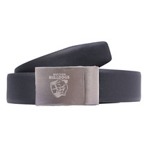 Western Bulldogs Official AFL Leather Belt
