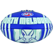 AFL Vortex FB PVC Size 2 North Melbourne Kangaroos