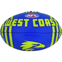 AFL Vortex FB PVC Size 2 West Coast Eagles