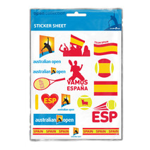 Australian Open Stickers - Spain