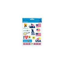 Australian Open Stickers - USA