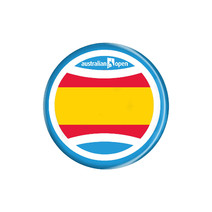 Australian Open Spain Badge