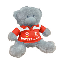 "Australian Open 7"" Plush Bear - Switzerland"