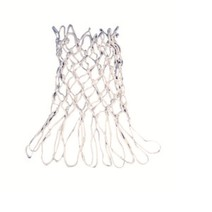 Ringmaster Basketball Net - White Braided Heavy Duty