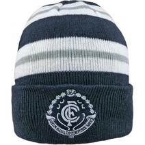 Carlton Blues Wozza Beanie