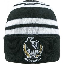 Collingwood Magpies Wozza Beanie