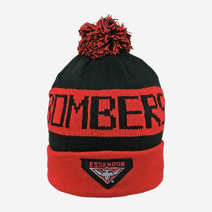 Essendon Bombers Bar Beanie