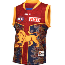 Brisbane Lions BLK Youth Indigenous Guernsey