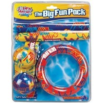 Wahu Pool Party Fun Pack Includes Dive Sticks Dive Ring