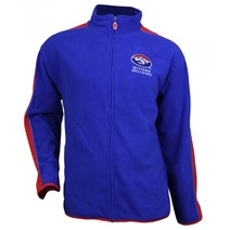 AFL Western Bulldogs Polar Fleece Jacket Mens