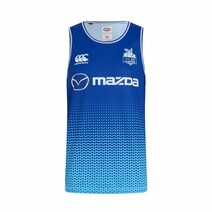 North Melbbourne Kangaroos 2019 Canterbury Mens Vapodri Training Singlet
