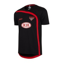 2017 Essendon Bombers Mens Training Tee - Black