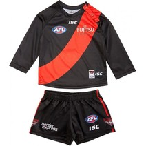 Essendon Bombers 2018 ISC Toddler Home Guernsey Set