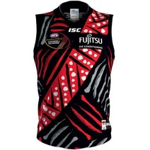 Essendon Bombers Youth 2018 Indigenous Guernsey