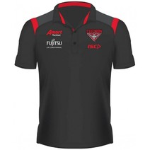 Essendon Bombers 2019 AFL Kids Media Polo