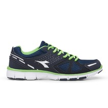 Diadora Rapid Running Shoes Mens - Navy Green White
