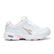 Diadora Comfort Walker Shoes Womens - White Pink