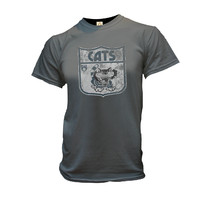 Geelong Cats Mens Retro 70's Tee