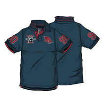 AFL Adelaide Crows Mens Heritage Polo