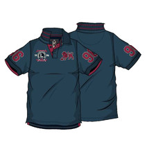 AFL Brisbane Lions Mens Heritage Polo