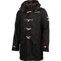 Richmond Tigers Mens Crowd Duffle Coat