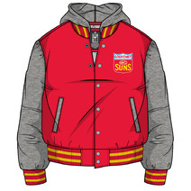 Gold Coast Suns Mens Collegiate Hood Jacket