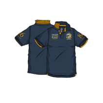 West Coast Eagles Mens Surburban Polo