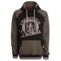 AFL Ladies Stamp Pullover Hood Fremantle Dockers