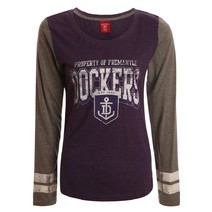 AFL Ladies Property Long Sleeve Tee Fremantle Dockers