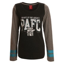 AFL Ladies Property Long Sleeve Tee Port Adelaide Power