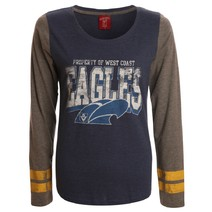 AFL Ladies Property Long Sleeve Tee West Coast Eagles