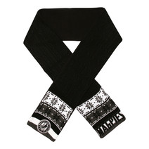 AFL Adult Cable Scarf Collingwood Magpies