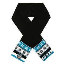 AFL Adult Cable Scarf Port Adelaide Power