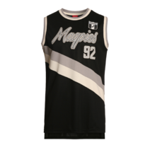 Collingwood Magpies 2017/2018 Summer Mens Throwback Singlet
