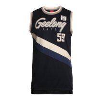 Geelong Cats 2017/2018 Summer Mens Throwback Singlet