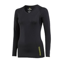 Diadora Womens Compression Long Sleeve Tee