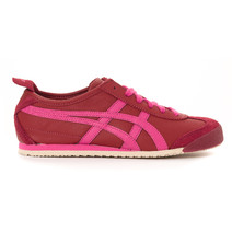 Asics Onitsuka Tiger Mexico 66 Casual Shoes Womens - Burgundy/Magenta