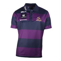 Melbourne Storm Media Polo - Purple