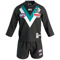 Port Adelaide Power 2019 AFL Toddler Home Guernsey Set