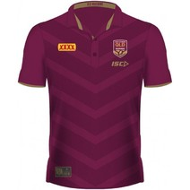 Qld State of Origin 2018 Womens Media Polo Shirt