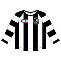 Collingwood Magpies Replica Toddler L/S Guernsey