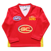 Gold Coast Suns Replica Toddler L/S Guernsey